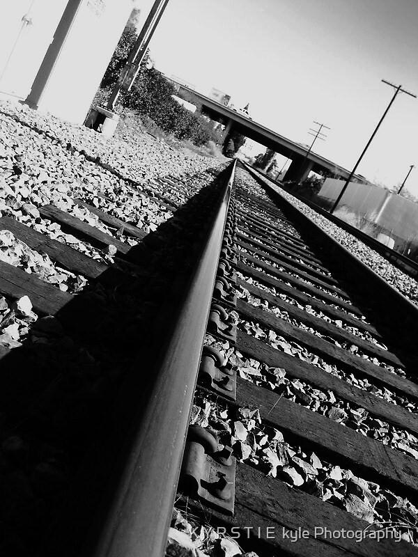 riding the rails_2_bw by K Y R S T I E  kyle Photography