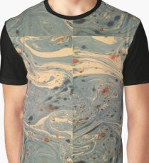 Paper dyed galaxy Graphic T-Shirt