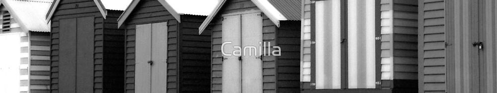 Brighton - Black and White by Camilla