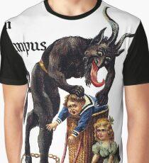 Gruss Vom Krampus Grafik T-Shirt