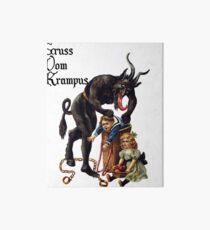 Gruss Vom Krampus  Art Board Print