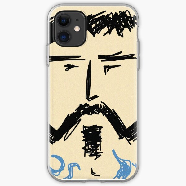 Tough guy iPhone Soft Case