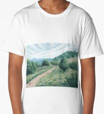 Cloudy Hills Long T-Shirt
