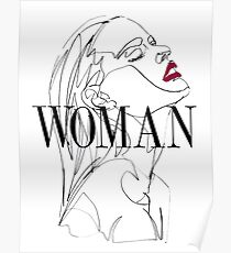 WOMAN Harry Styles Poster