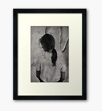 Inverted reality ... Framed Print