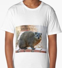 Dassie / Rock hyrax Long T-Shirt