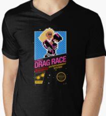 8-bit RuPaul's Drag Race Men's V-Neck T-Shirt