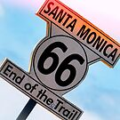 End of Route 66 by Mike-Hope by Mike Hope