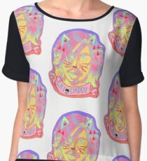 Hiro-meow Taka-Cat-shi: Pastel Cat Filter Women's Chiffon Top