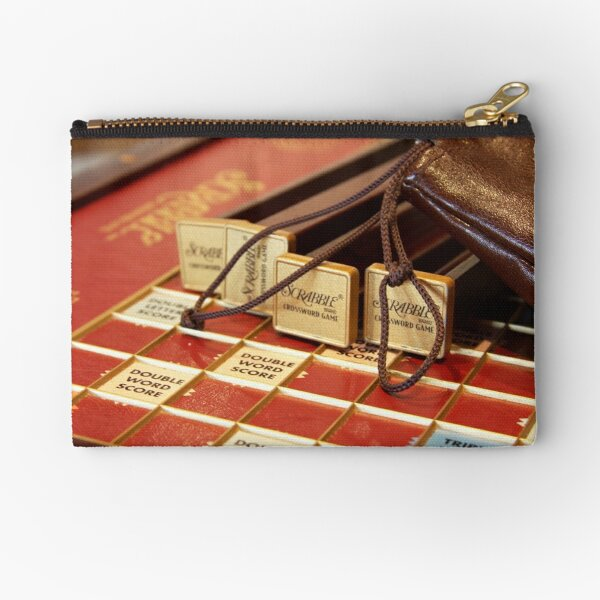 Lost for Words - Scrabble - Mike Hope Zipper Pouch