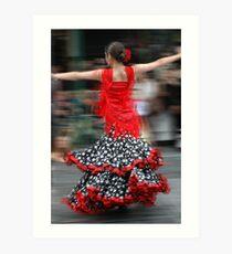 dancing in the streets Art Print