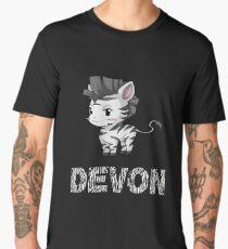 Zebra Devon Men's Premium T-Shirt