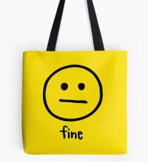Fine by Rachel Kear Tote Bag