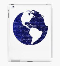 Cool Programmer Coding World Design iPad Case/Skin