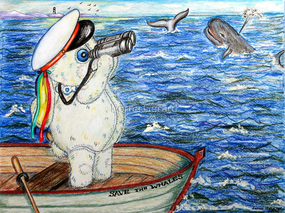 Pooky Saving the Whales by Lorna Gerard