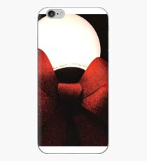Light Globe on a Snowy Night  iPhone Case