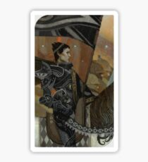Dragon Age Inquisition Cassandra Tarot card Sticker