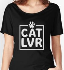 Kitty Cat Lover   Women's Relaxed Fit T-Shirt