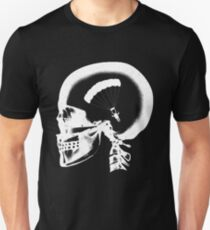 Skydiving In My Brain - Base Jump X-ray Skull Sky Diver Cool Unisex T-Shirt