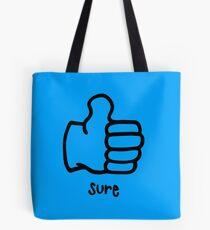 Sure by Rachel Kear Tote Bag