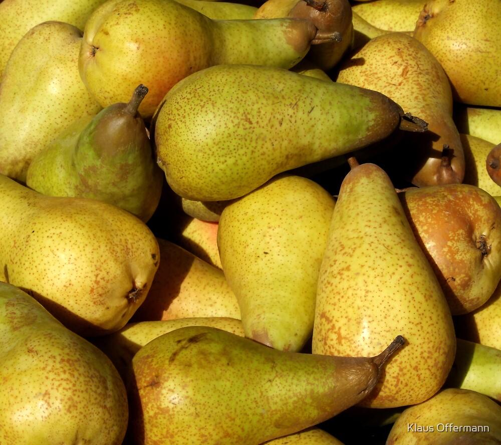 Pears by Klaus Offermann