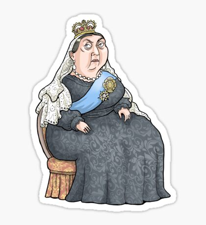 Queen Victoria Sticker