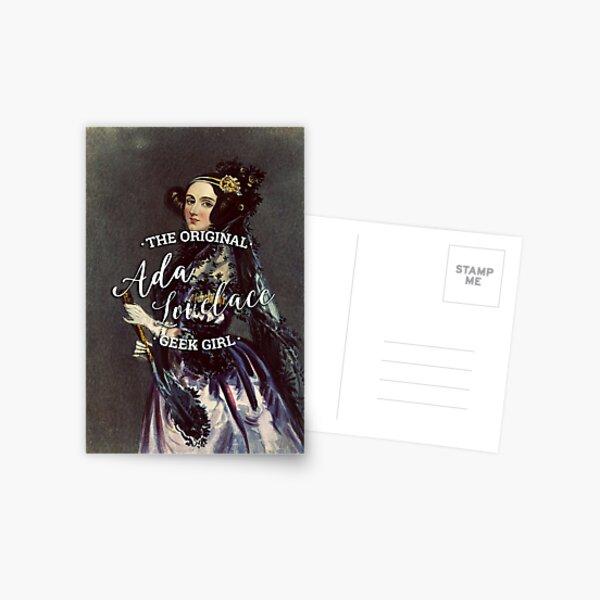 Ada Lovelace - The Original Geek Girl Postcard