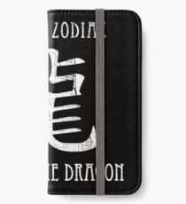 Chinese Zodiac Year of the Dragon design iPhone Wallet/Case/Skin