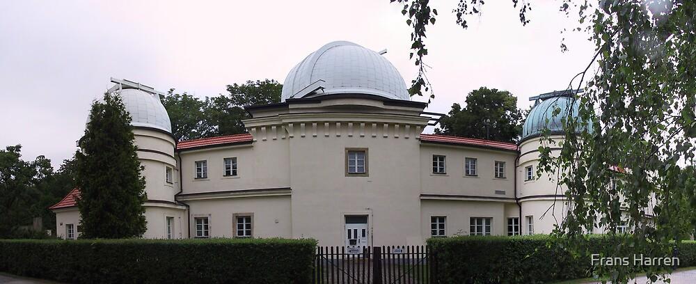 Panorama of Štefánik's Observatory by Frans Harren
