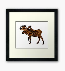 Wild at Heart Framed Print