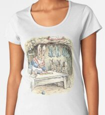 Josephine Rabbit and Benjamin Bunny Women's Premium T-Shirt