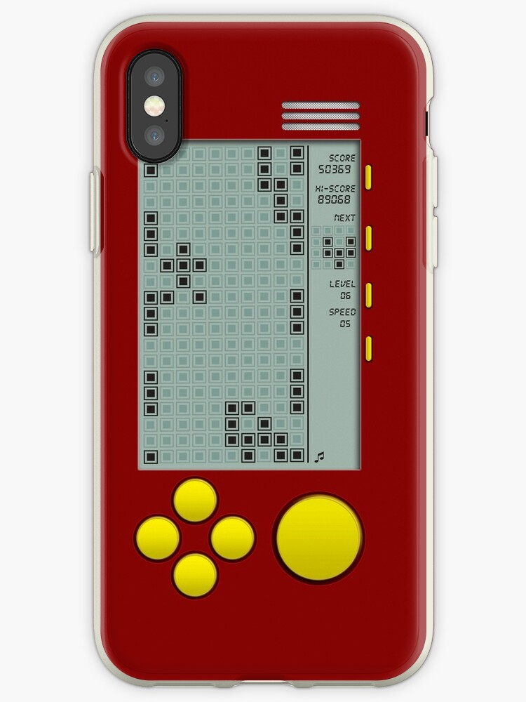 iphone xs case game