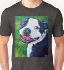 Smiling BOSTON TERRIER Unisex T-Shirt