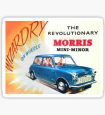 Morris Minor  ye small one Sticker