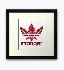 Stranger Things t-Shirt Framed Print