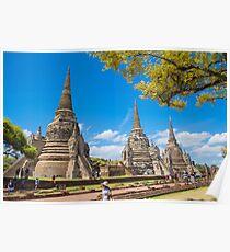 Ayutthaya, Thailand Poster