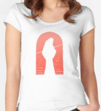 Catching Arrows Women's Fitted Scoop T-Shirt