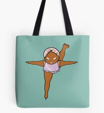Big Girls Can Ice Skate by Sammy Choi Tote Bag