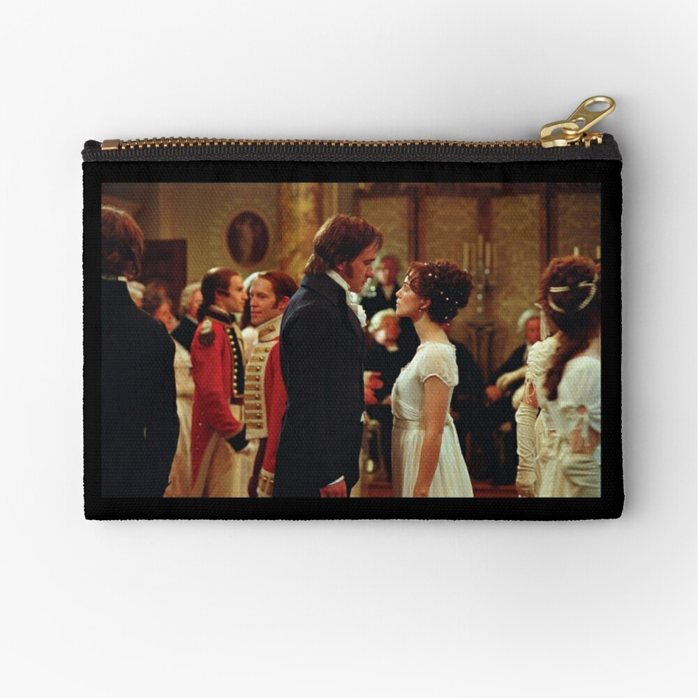 Pride and Prejudice [Click to see other items with this design] Zipper Pouch