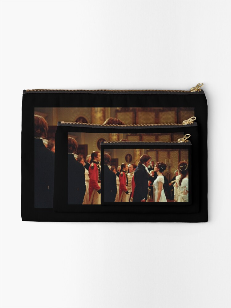 Alternate view of Pride and Prejudice [Click to see other items with this design] Zipper Pouch