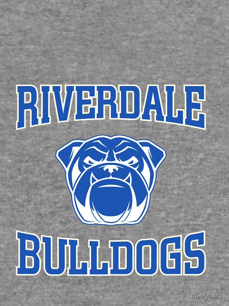 Riverdale Bulldogs Logo Lightweight Hoodie By Thebyouzy Redbubble