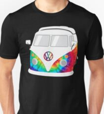 VW Camper Van - TieDye Unisex T-Shirt
