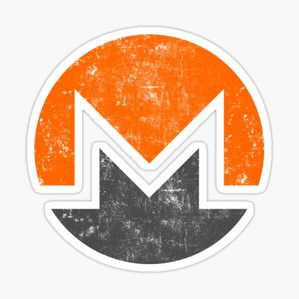 Vintage Monero Cryptocurrency Sticker