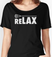BIG SALE MP561 Relax Lacrosse Sticks New Product Women's Relaxed Fit T-Shirt