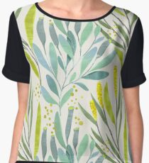 Lemon Spring Women's Chiffon Top