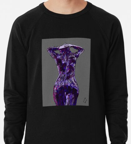 Purple Latex, 2014 Lightweight Sweatshirt