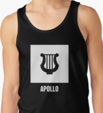 Apollo | Greek Mythology God Symbol Tank Top