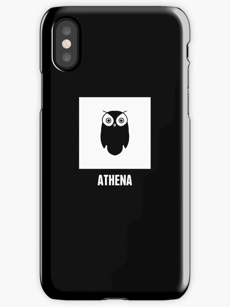 Athena Greek Mythology God Symbol Iphone Cases Covers By Nathan