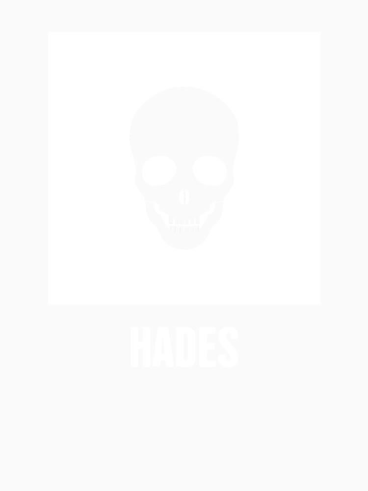 Hades Greek Mythology God Symbol Womens Premium T Shirt By