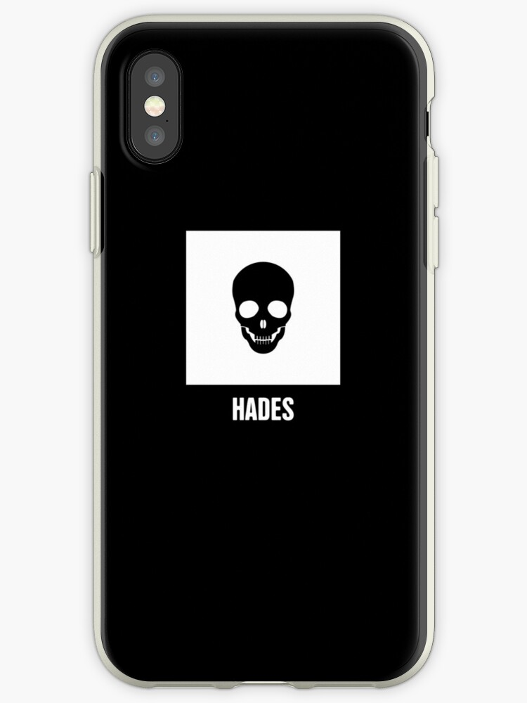 Hades Greek Mythology God Symbol Iphone Cases Covers By Nathan